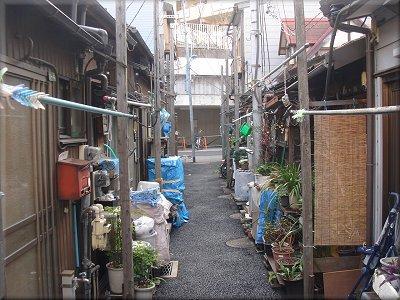 本郷菊坂 長屋