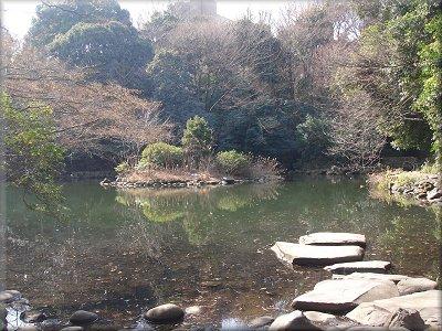 東大三四郎池
